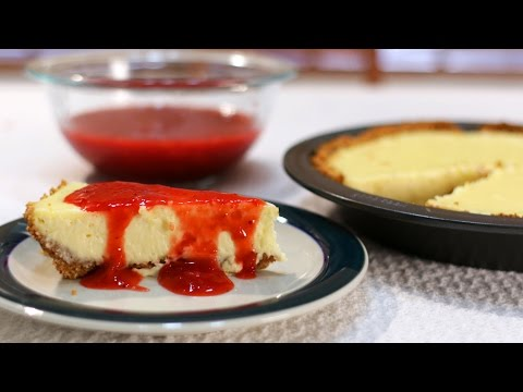 How to make Cheesecake - Easy Cheesecake video recipe