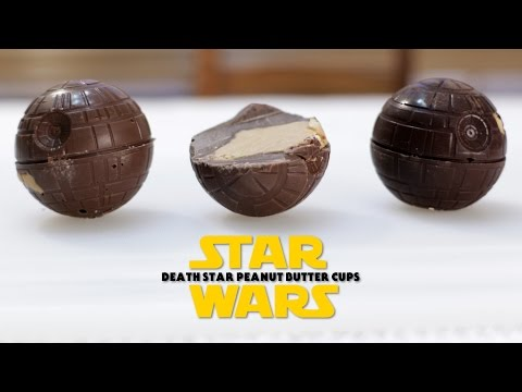 How to Make Star Wars Death Star Peanut Butter Cups