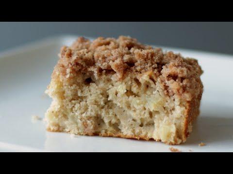 How to Make Apple Streusel Coffee Cake| Easy Apple Crumble Cake Recipe