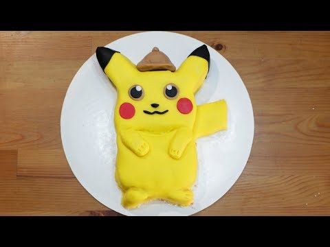 How to Make a POKÉMON Cake | Pokemon Detective Pikachu Movie Cake