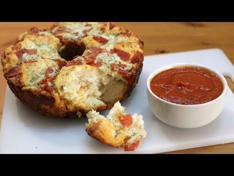 How to Make Pizza Monkey Bread | Easy Pull Apart Pizza Recipe