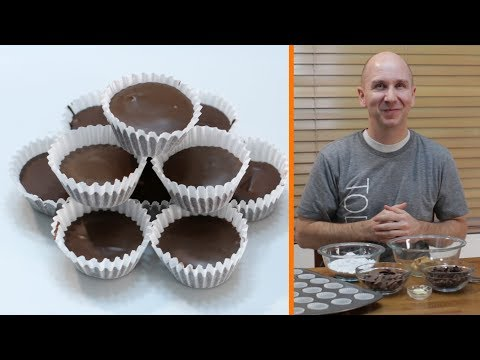 How to Make Peanut Butter Cups | Better Than Reese's Peanut Butter Cup Recipe