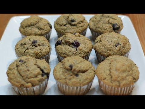 How to Make Acorn Muffins | Easy Acorn and Blueberry Muffin Recipe