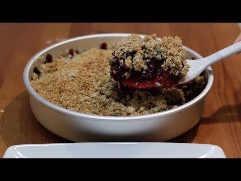 How to Make a Berry Crisp | Amazing Triple Berry Crisp Recipe