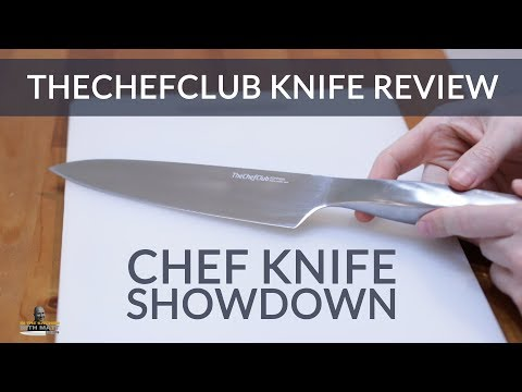 TheChefClub Knife Review and Chef Knife Showdown