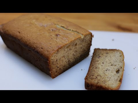 How to Make Banana Bread | Easy Moist Homemade Banana Bread Recipe
