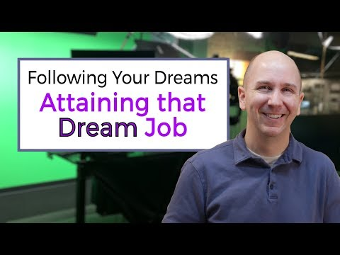 Following Your Dreams | Attaining that Dream Job | vlog episode 16