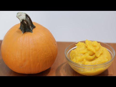 How to make Pumpkin Puree | Easy Homemade Pumpkin Puree Recipe