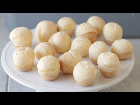 How to Make Brazilian Cheese Bread | Easy Pão de Queijo Recipe