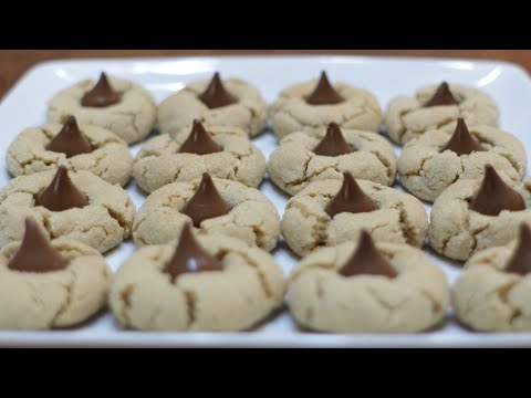 How to Make Peanut Butter Blossom Cookies   Easy Peanut Butter Cookie Recipe