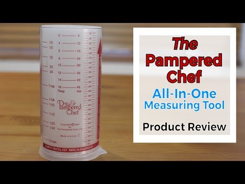 Pampered Chef All in One Measuring Tool | Product Review 14 | You Need This