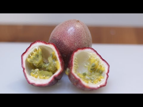 How to Eat Passion Fruit | Passion Fruit Taste Test
