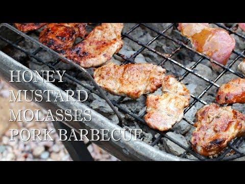 How to Make Honey Mustard Molasses Pork Barbecue - Easy Grilled Pork Recipe