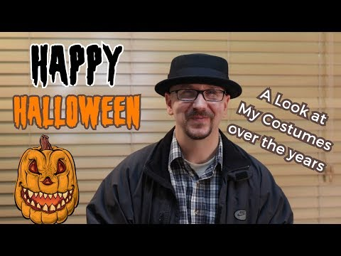 Happy Halloween Vlog | A Look At My Costumes Through the Years