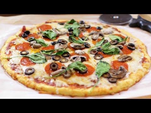 How to Make a Keto Pizza   Easy Homemade Keto Pizza Recipe (Healthy, Gluten Free)