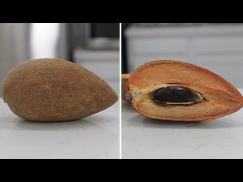 How to Eat Mamey Sapote (Pouteria Sapota) | Taste Test