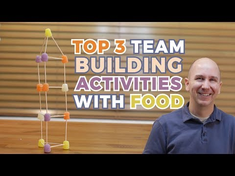 Top 3 Team Building Activities with Food | Let's Build It