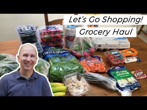 Let's go Shopping | Grocery Haul on a Budget | Bird in the Supermarket