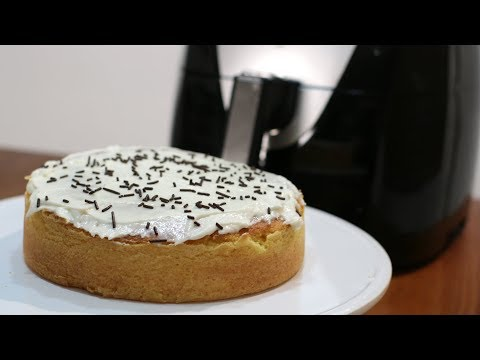 How to Make a Cake in Air Fryer   Easy Air Fryer Cake