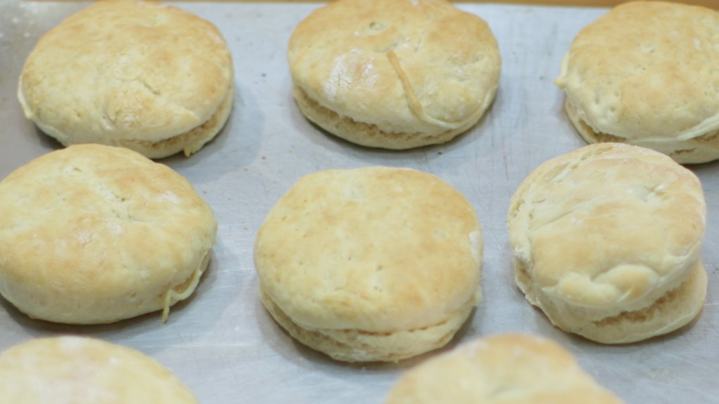 Easy Homemade Biscuits Recipe In The Kitchen With Matt
