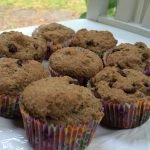 gluten dairy free muffins on a plate.