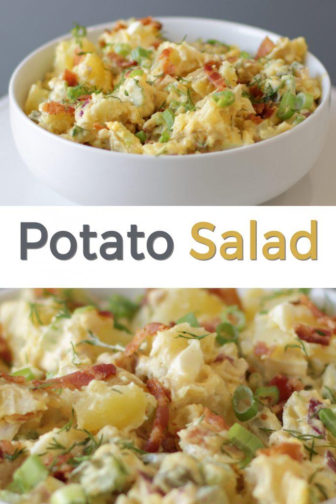 Potato Salad pin for Pinterest