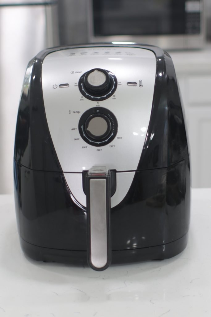 Air fryer on a counter