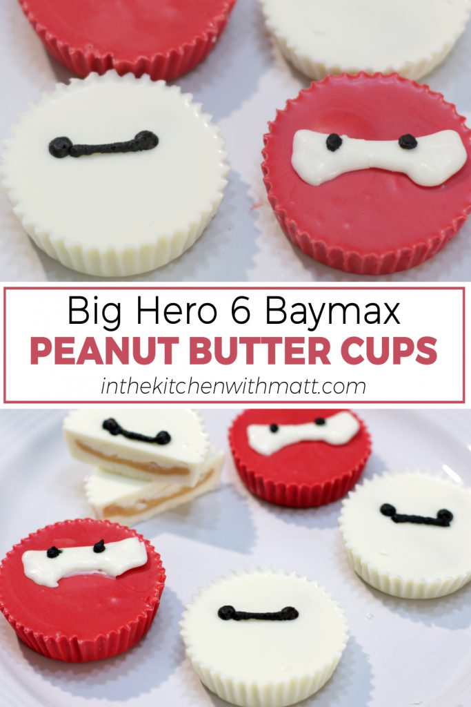 Big Hero 6 Baymax Peanut Butter Cups pin for Pinterest
